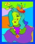 Green woman2