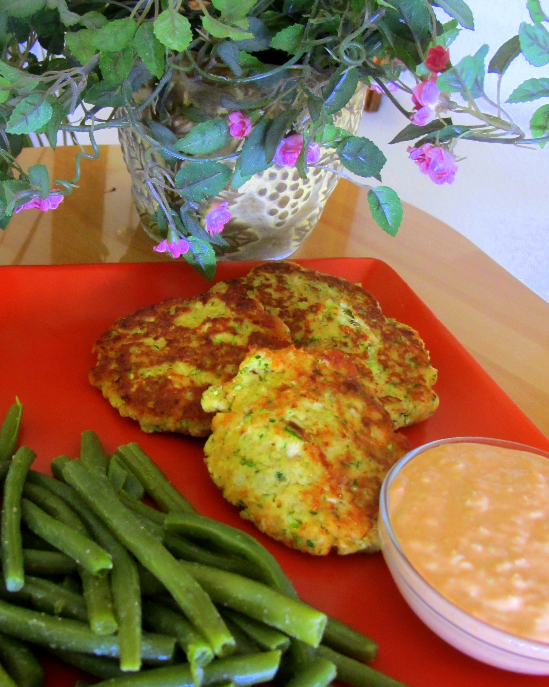 ... Zucchini/Tuna Cakes with Zesty Remoulade | Susartandfood's Blog